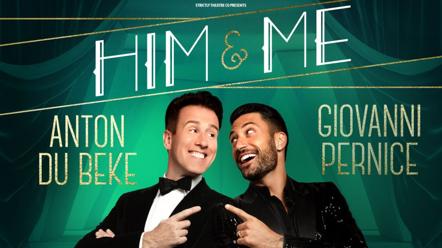Anton Du Beke and Giovanni Pernice him and me