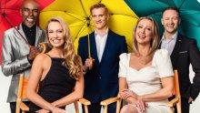 Singin' In The Rain cast at Sadler's Wells