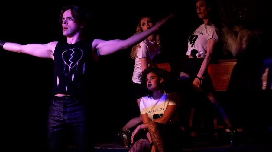 Bart Lambert, Johanna Stanton, Fia Houston-Hamilton, Sophie Juge, Dorian A Rock Musical (Credit Stream.Theatre)