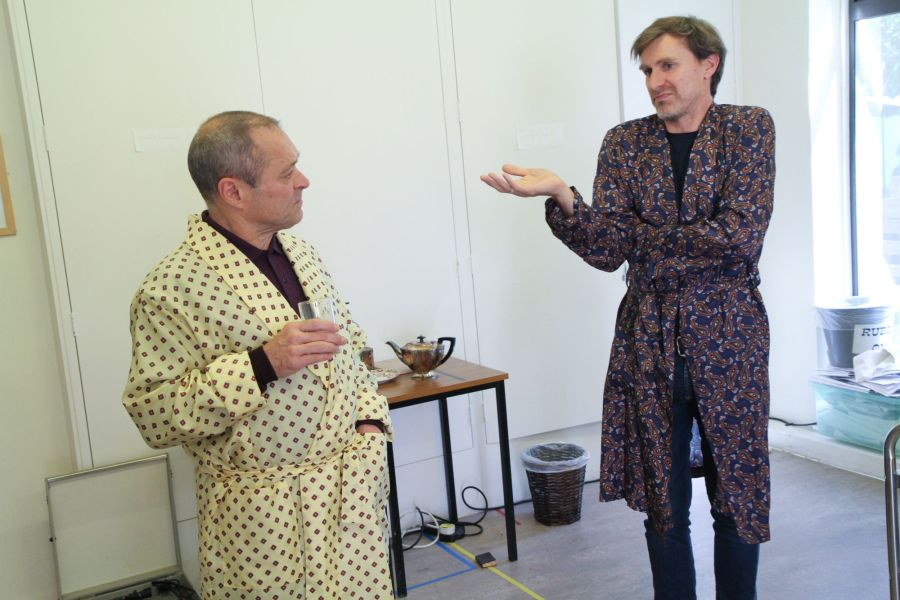 John Sackville and Paul Rider, courtesy of Phil Gammon