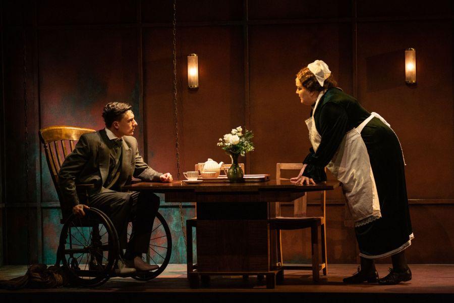 Sam Kipling and Emma Lindars, Lady Chatterley's Lover (credit Mark Senior)
