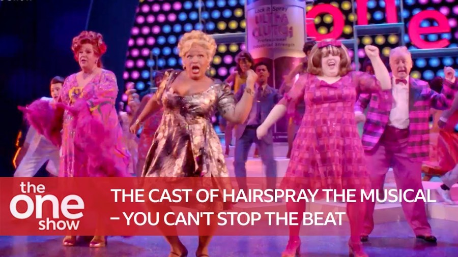 hairspray cast you cant stop the beat