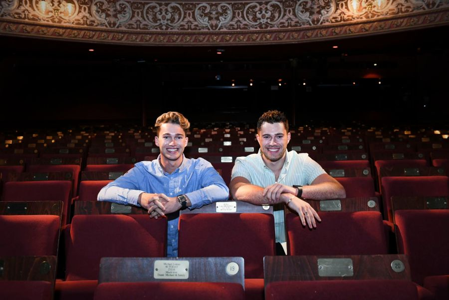 AJ and Curtis Pritchard at Wolverhampton Grand Theatre in Cinderella from 4 December 2021 - Photograph by Alex Styles (2)