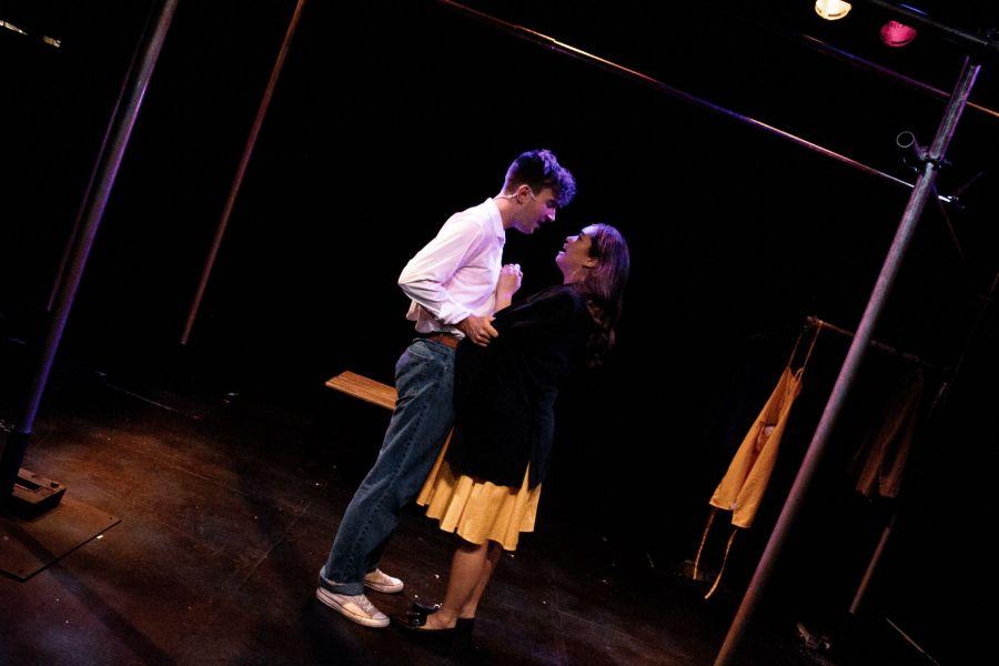 Aidan Harkins and Nicola Espallardo, From Here, photo Lucy Gray