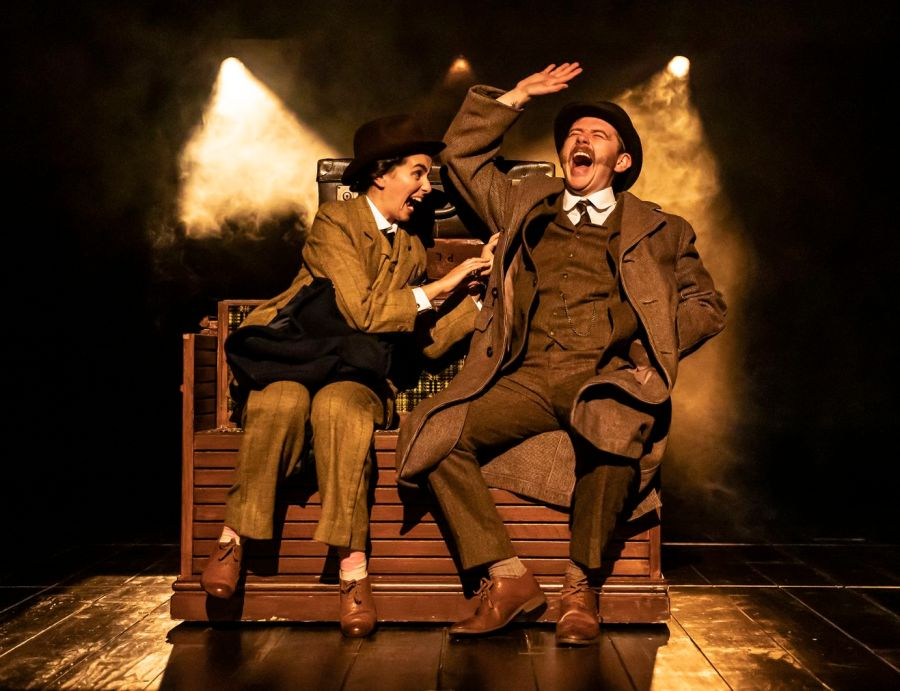 The Hound of the Baskervilles: Serena Manteghi, Niall Ransome (c) Pamela Raith