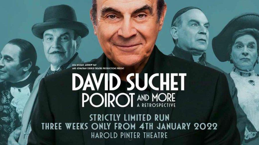 David Suchet Poirot More, A Retrospective Tickets