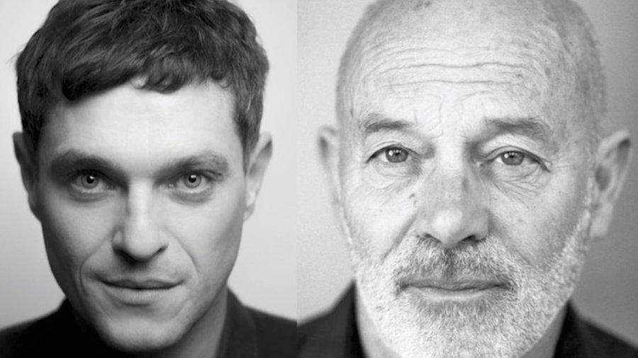 Mathew Horne and Keith Allen