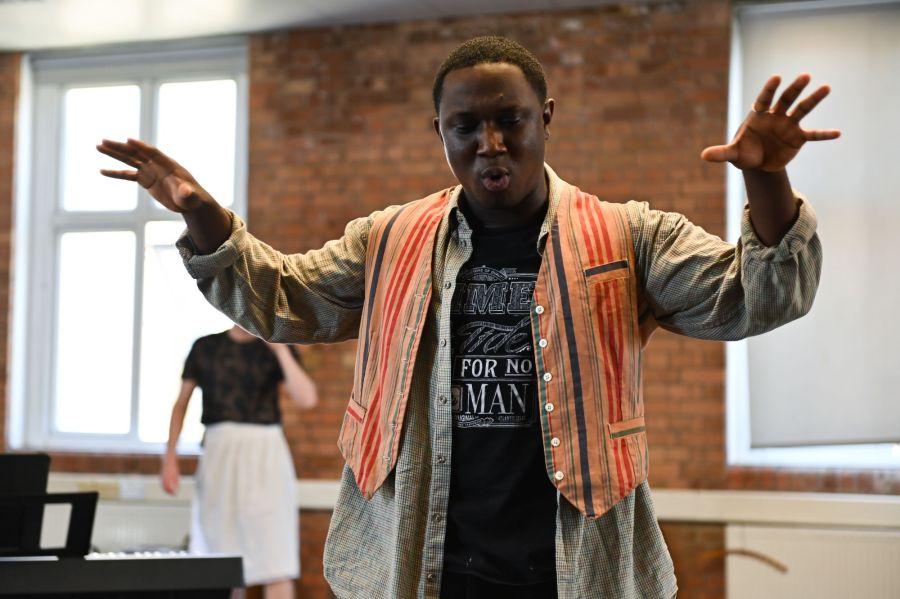 Phillip Olagoke, Photo Credit Charles Flint