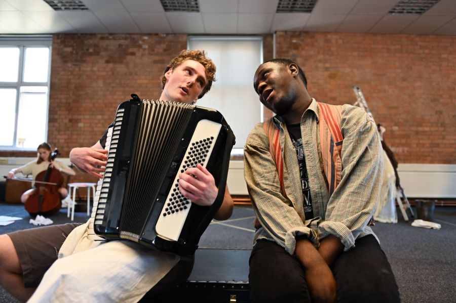 Reuben Greeph and Phillip Olagoke, Photo Credit  Charles Flint