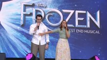 frozen the musical west end live