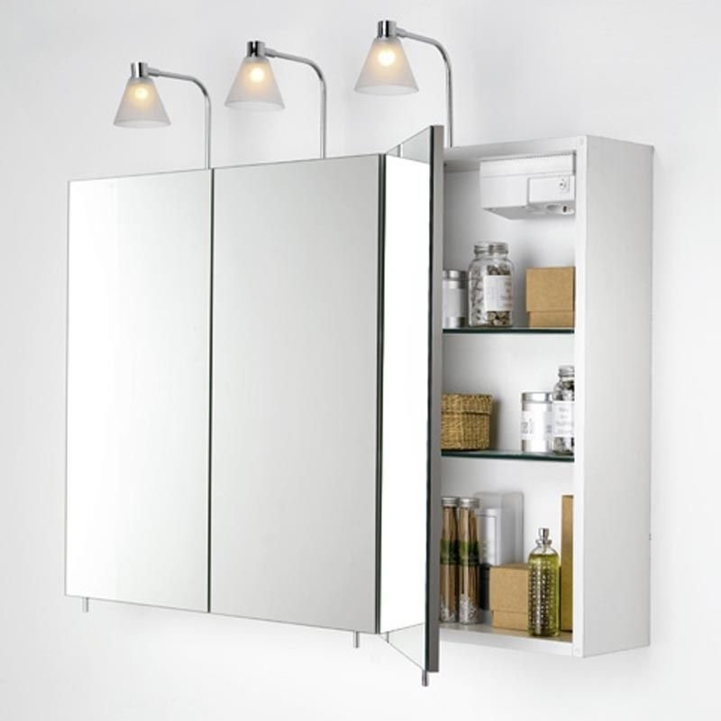 Bathroom Wall Cabinets With Mirrors  Home Furniture Design