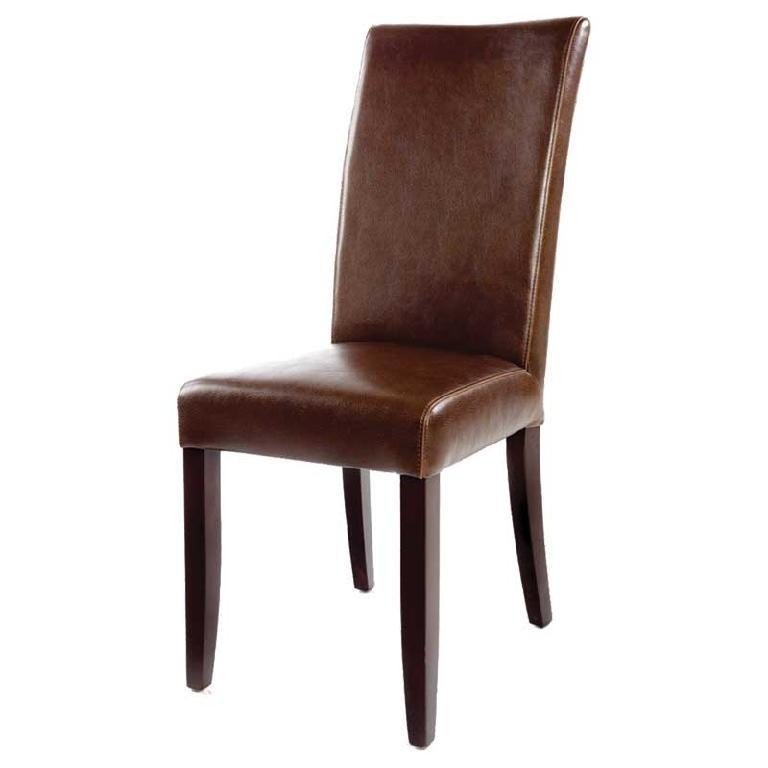 Distressed Leather Dining Chairs  Home Furniture Design