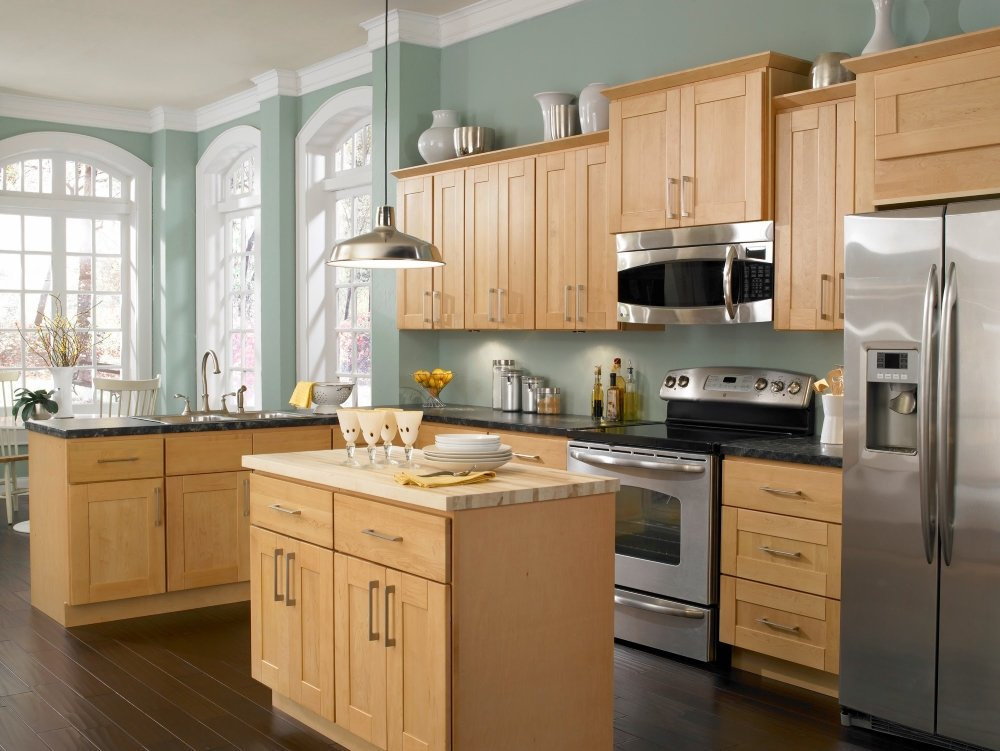 French Country Kitchen With Maple Cabinets kitchen colors maple cabinets. diy kitchen drawer organizer. blum