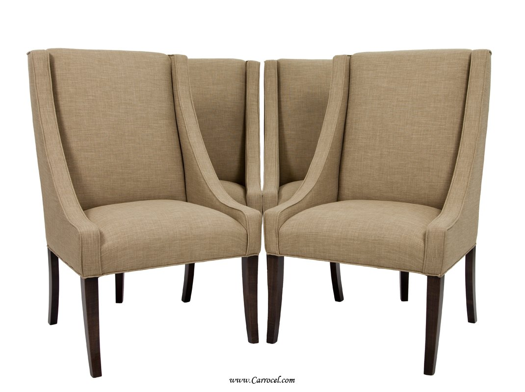 Upholstered Dining Chairs Upholstered Parsons Dining Chairs Home Furniture Design