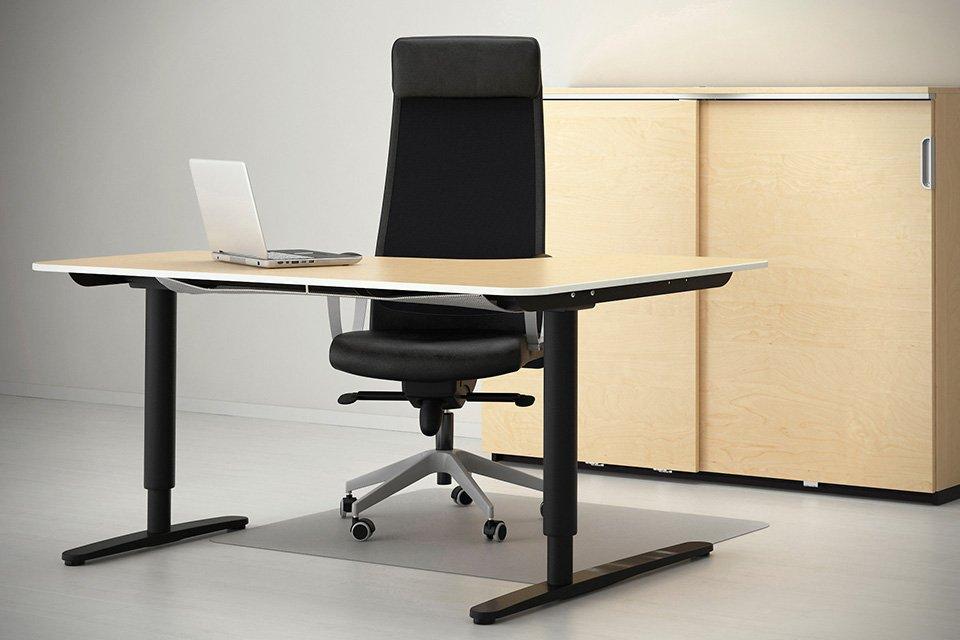 Ikea Sit Stand Desk  Home Furniture Design