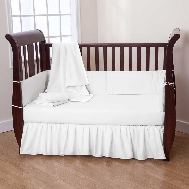 White Baby Bedding Crib Sets  Home Furniture Design