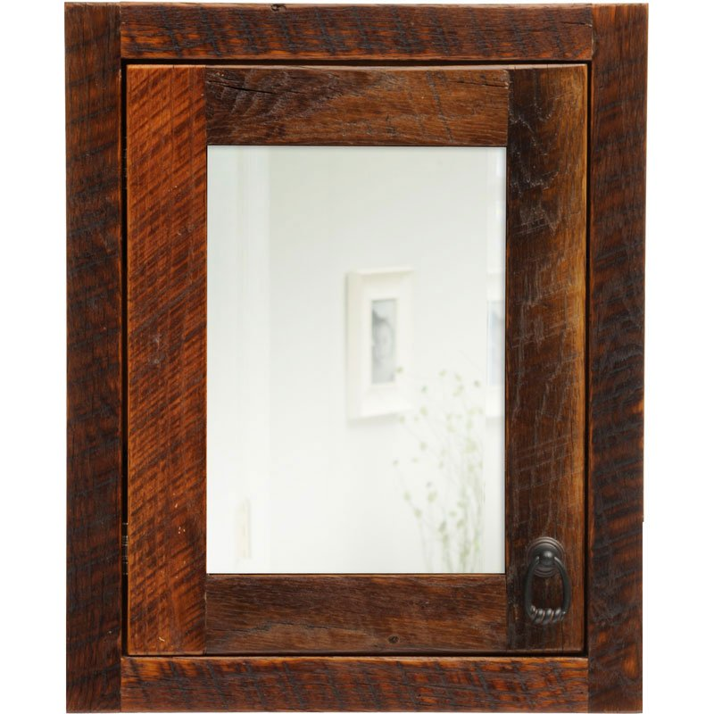 Rustic Medicine Cabinets For The Bathroom  Home Furniture