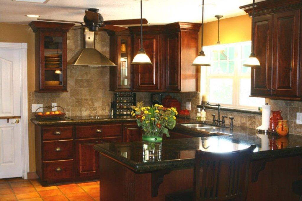 Kitchen Backsplash Ideas For Dark Cabinets  Home