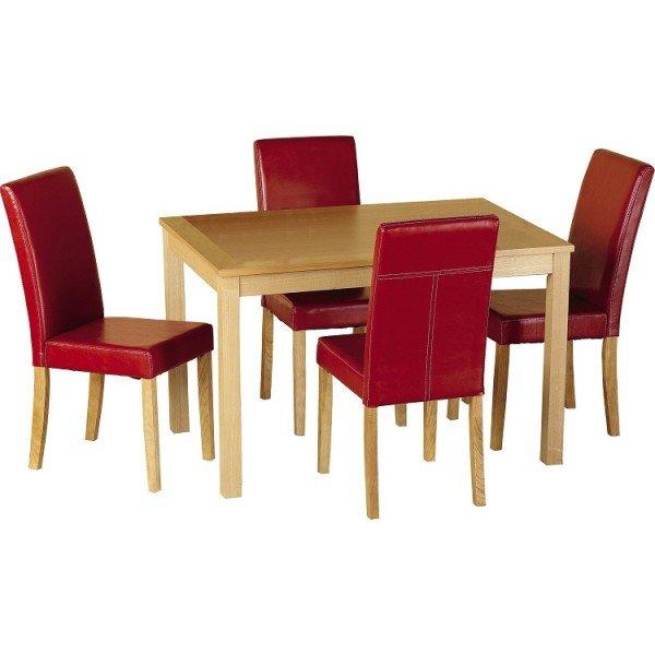 Red Dining Room Sets  Home Furniture Design