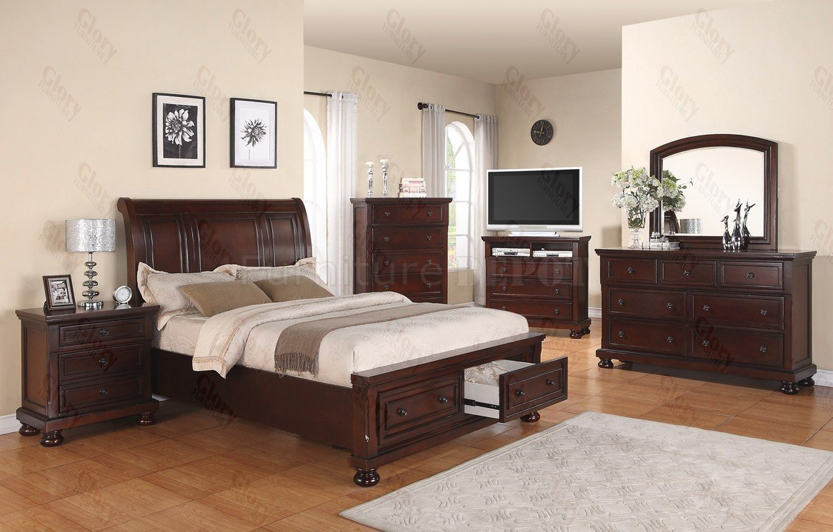 6 Piece King Bedroom Set  Home Furniture Design