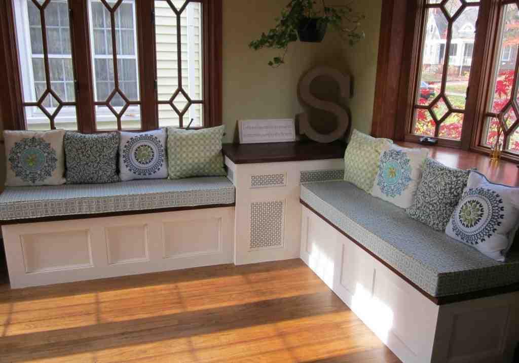 Corner Bench Seat With Storage