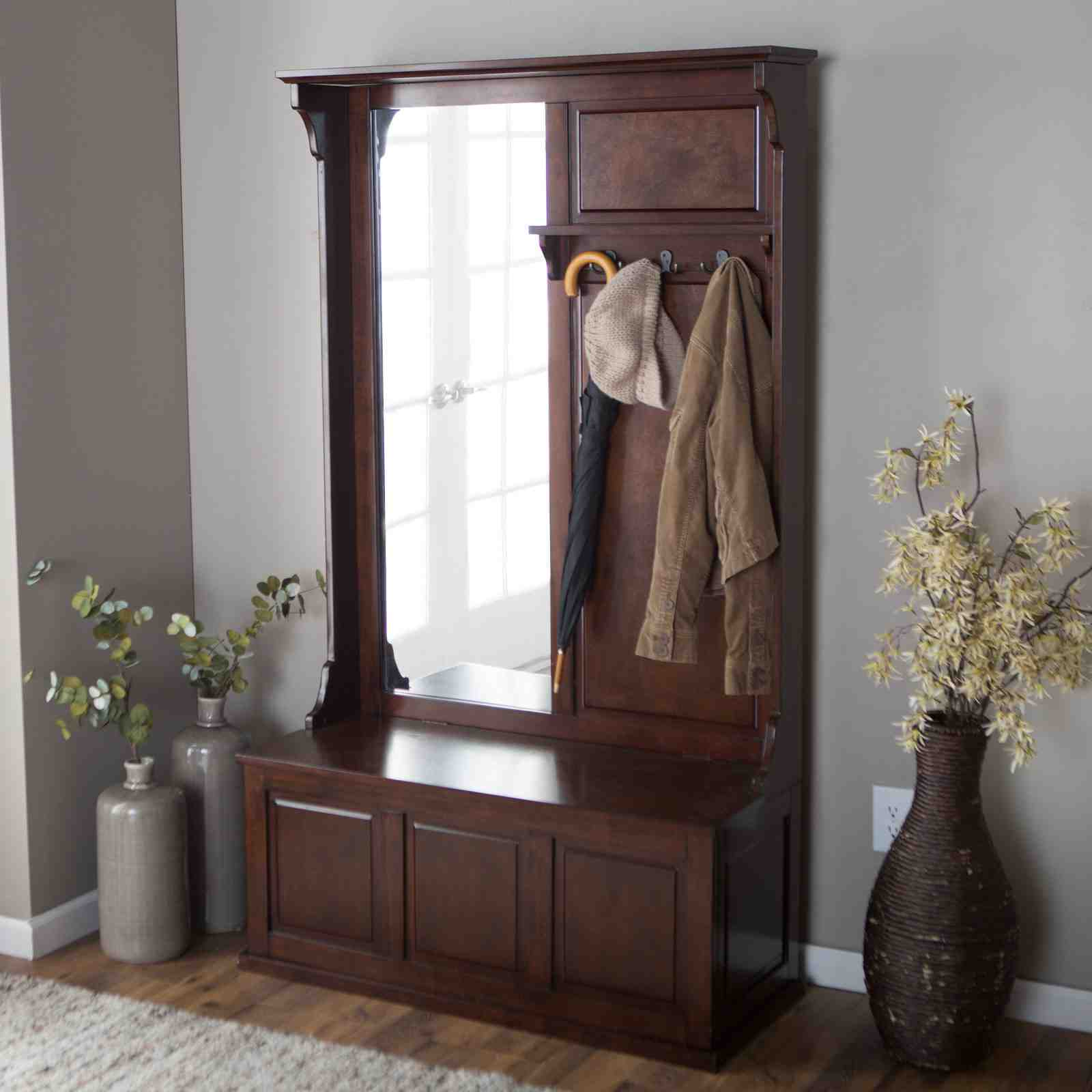Hall Tree Storage Bench How To Purchase  Home Furniture