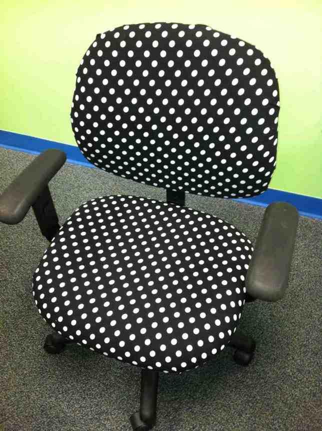 Polka Dot Desk Chair  Home Furniture Design