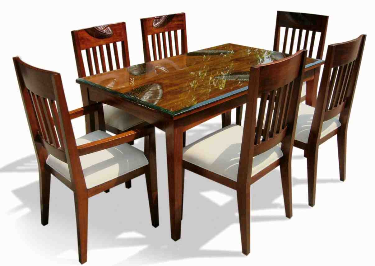 Dining Chairs Set Six Chair Dining Table Set Home Furniture Design
