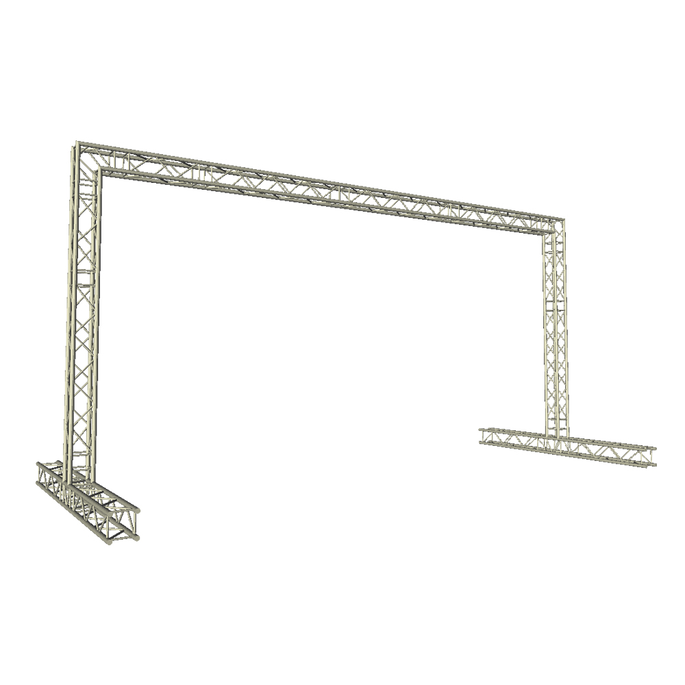 8m x 4m Video Wall Truss LED Display Panel Structure