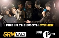 Watch 11 MCs go crazy in special Fire In The Booth Cypher