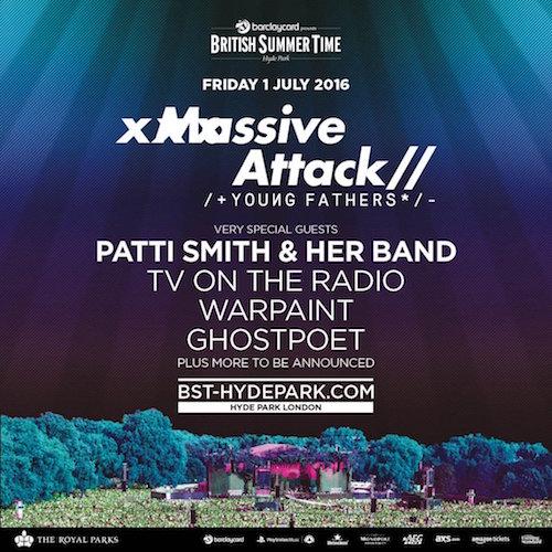 British Summer Time 2016: Massive Attack to headline