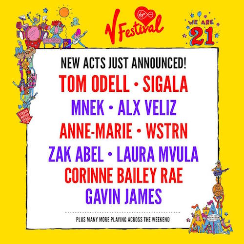 V Festival MNEK 2016 announcement