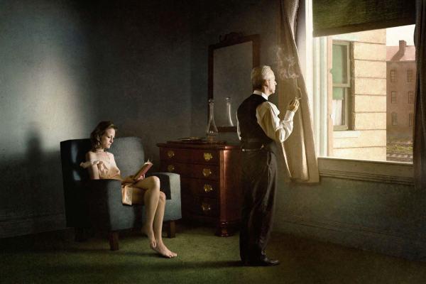 Richard Tuschman Hopper Meditation Staged