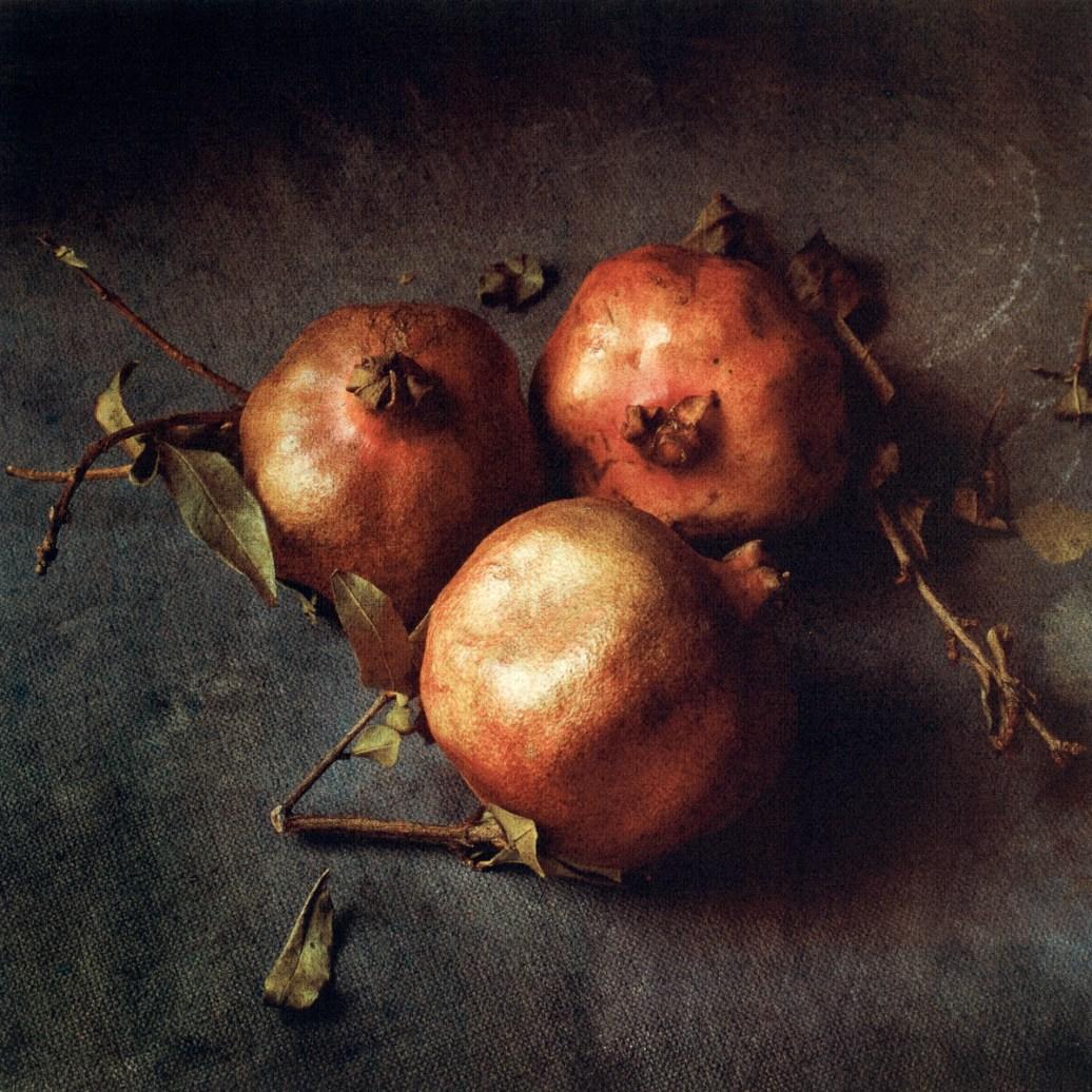 Three Pomegranates by Cy DeCosse
