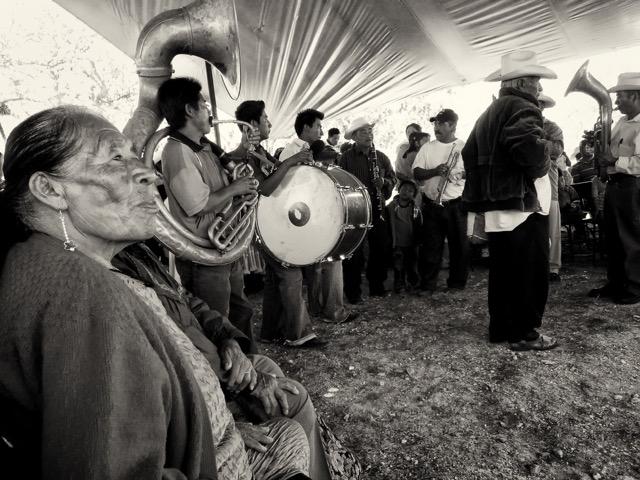 Dia de San Jose Band La Mixteca © Judith Haden