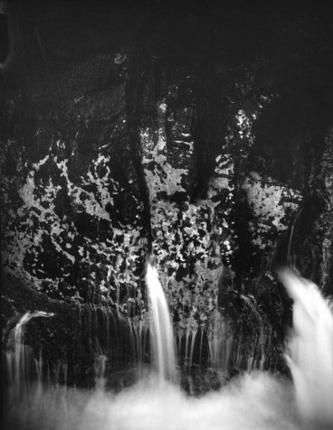 """Water Rock, French Cove, from the """"Mother of Pearls"""" portfolio -- a tribute to Minor White, © William Giles"""