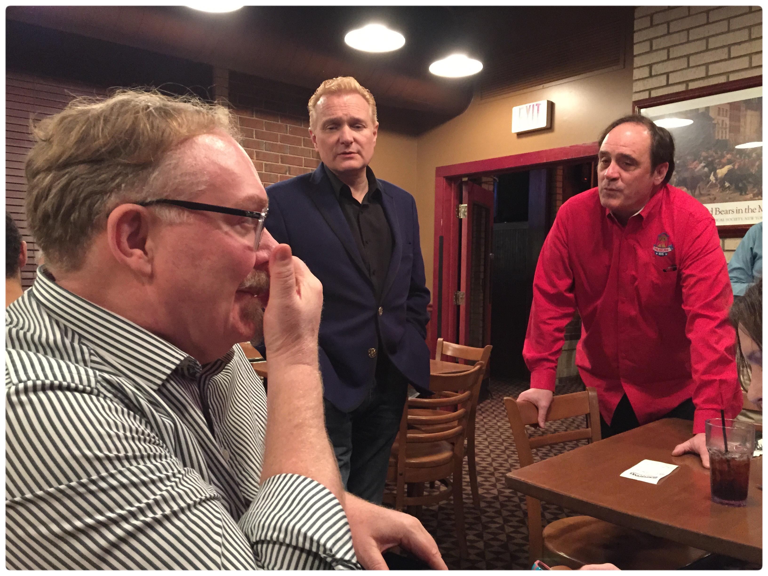 Dal & Kevin James, Jeff Hobson