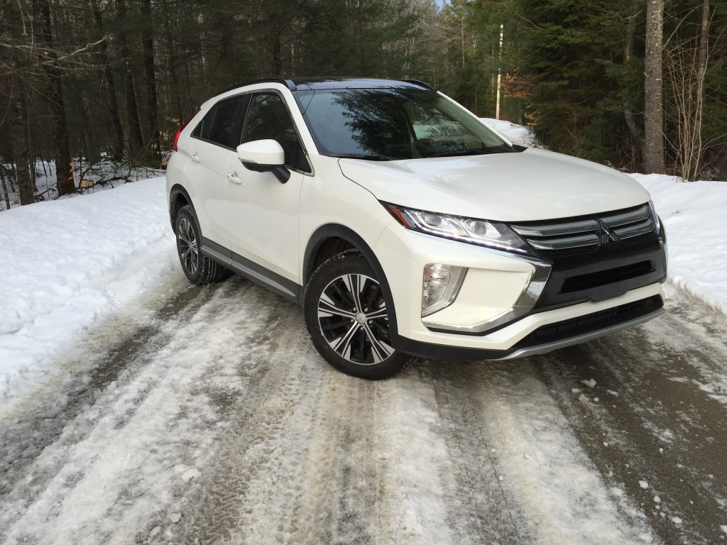 "The Mitsubishi Eclipse Cross ""stands out visually from its rivals."" Photo by Tim Plouff."