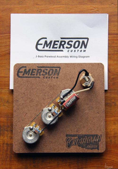 small resolution of emerson jazz bass prewired kit slide 1 of 1