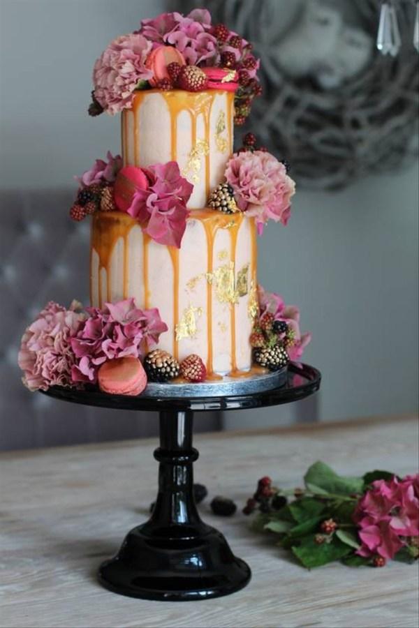 Two Tier Wedding Cake