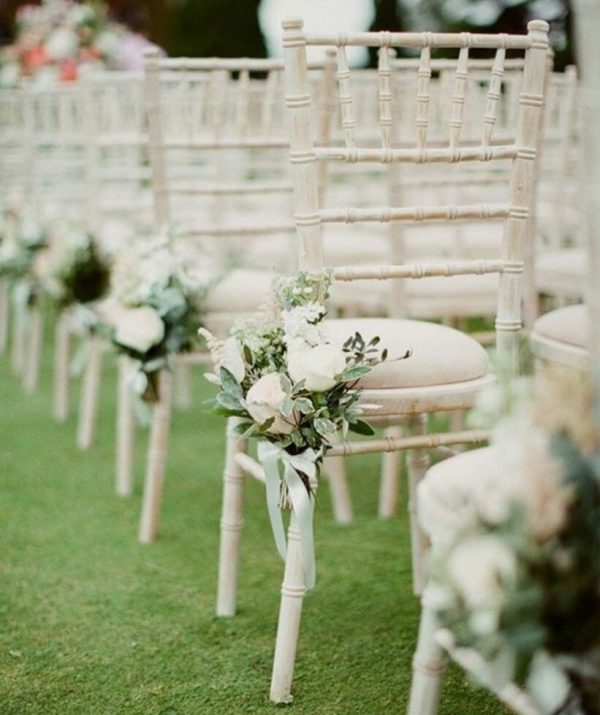 Floral Seating Decor