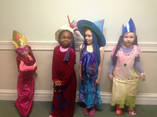 Magic of Merlin campers rocking their costumes!