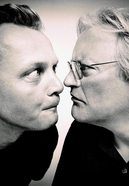 STOMP creators Luke Cresswell and Steve McNicholas