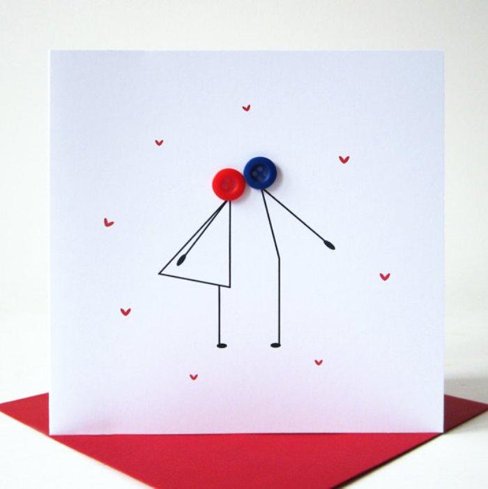 Simple Valentines Day Ideas Custom Card Making