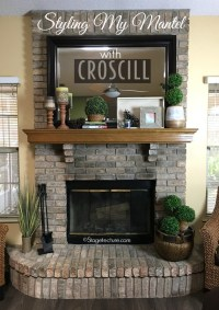 4 Easy Fireplace Mantel Decorating Ideas with Croscill