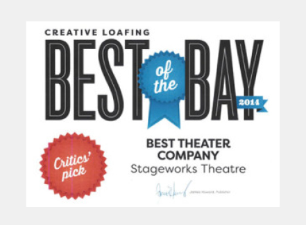 Stageworks Theatre Best of the Bay Award Best Theatre Company