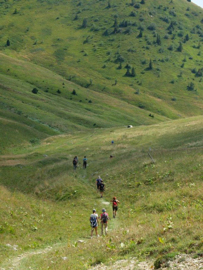 stage yoga randonnée montagne