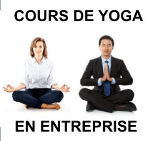 cours de yoga en entreprise avec Clément LEURENT
