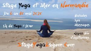 stage yoga mer normandie