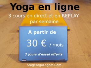 yoga en ligne abonnement